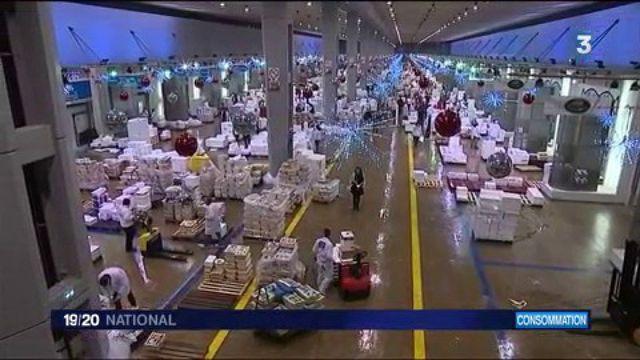 Noël, période cruciale pour le marché de Rungis