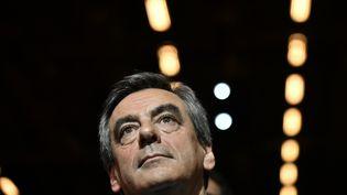 François Fillon, vainqueur de la primaire de la droite, le 25 novembre 2016 à Paris. (PHILIPPE LOPEZ / AFP)