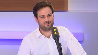 Pierre Thery, invité de l'interview éco sur franceinfo le 13 mars 2019. (FRANCEINFO / RADIOFRANCE)