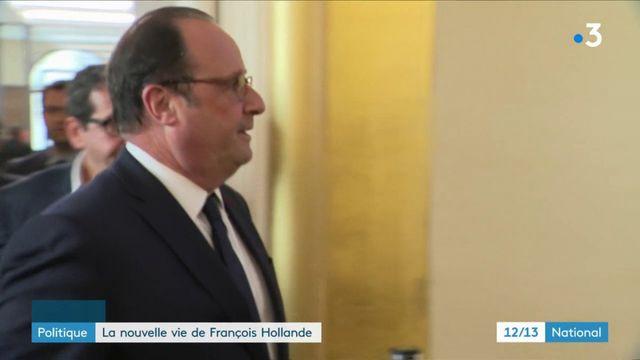 La nouvelle vie de François Hollande