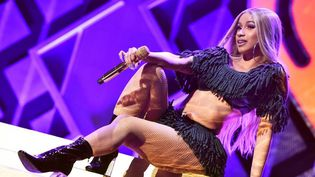 La rappeuse Cardi B en concert auMadison Square Garden  (THEO WARGO / GETTY IMAGES NORTH AMERICA / AFP)