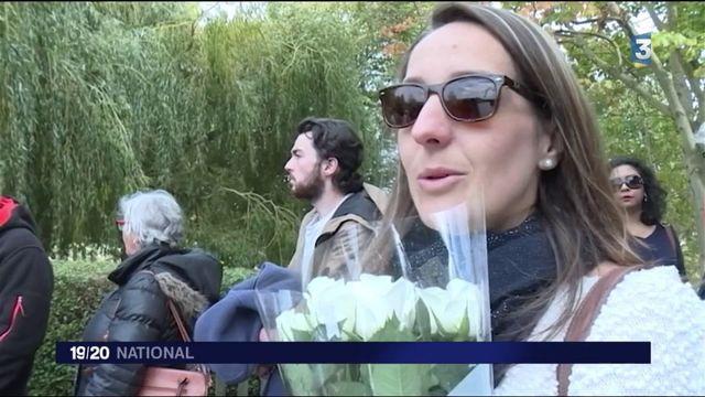 Londres : marche blanche en hommage à Sophie Lionnet