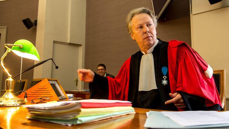 L'ancien procureur Luc Frémiot le 20 juin 2016 à Saint-Omer (Pas-de-Calais). (PHILIPPE HUGUEN / AFP)