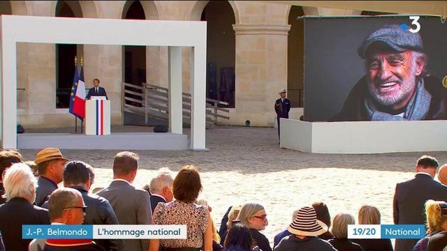 Cérémonie : un dernier hommage à Jean-Paul Belmondo aux Invalides