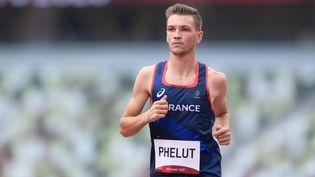 Alexis Phelut a pris la 12e de la finale du 3000 mètres steeple des Jeux olympiques de Tokyo. (MONTIGNY PHILIPPE / KMSP)