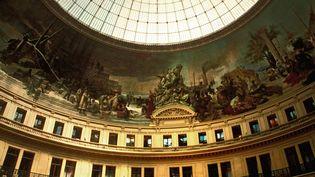 L'intérieur de la Bourse du Commerce à Paris  (BRAVO-ANA / ONLY FRANCE)