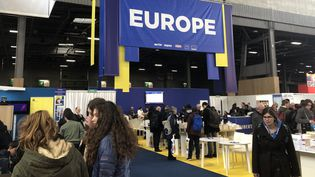 Entrée de la Scène Europe au Salon du Livre de Paris 2019.  (Manon Botticelli)