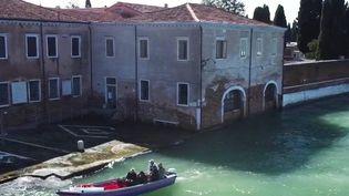 Le surprises de la lagune de Venise (Capture d'écran France 2)