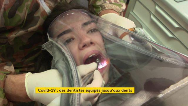 ViDEO. Une enceinte de confinement pour protéger les dentistes