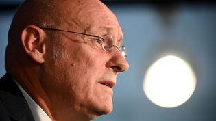 Le président de la Fédération française de rugby, Bernard Laporte.  (FRANCK FIFE / AFP)
