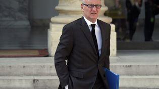 André Vallini, secrétaire d'Etat à la réforme territoriale, le 8 avril 2015 à Paris. (LIONEL BONAVENTURE / AFP)
