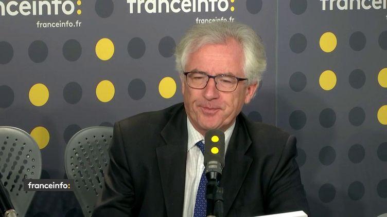 Jacky Coulon, secrétaire général de l'Union syndicale des magistrats, le 18 octobre 2018. (RADIO FRANCE / FRANCEINFO)