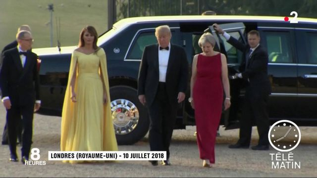 Donald Trump met la pression sur Theresa May