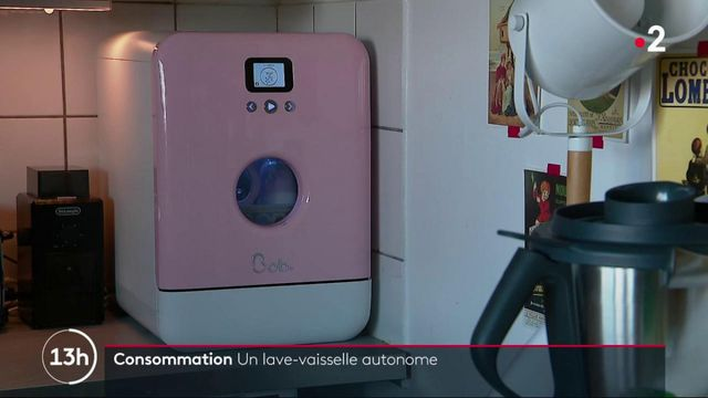 Consommation : un lave-vaisselle transportable made in France