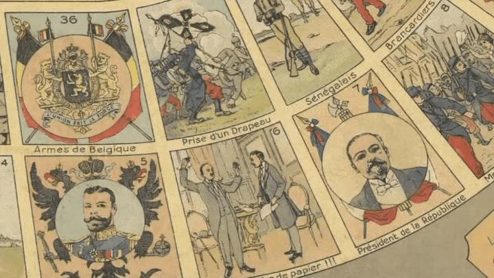 """Le jeu """"Jusqu'au bout"""", inventé dès le début de la Grande Guerre  (France 3/Culturebox)"""
