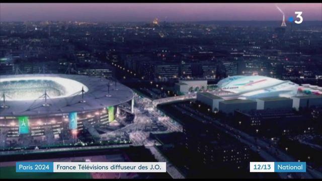 Paris 2024 : France Télévisions diffuseur des JO