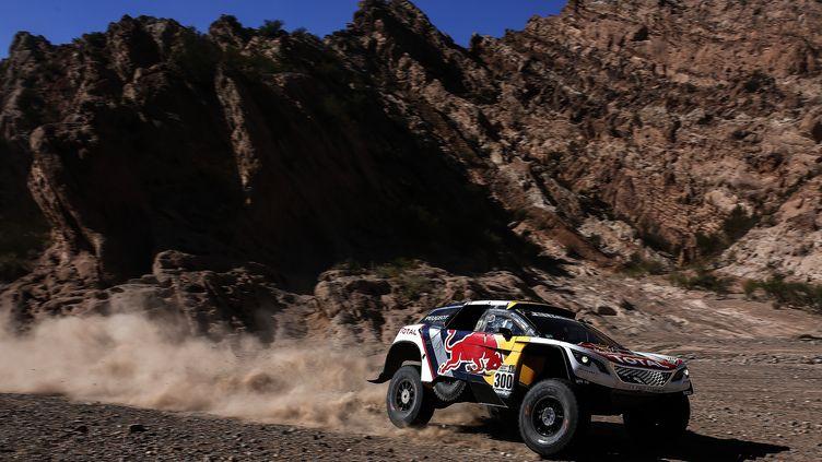 Stéphane Peterhansel bien parti pour remporter le Dakar 2017 (BENJAMIN CREMEL / DPPI MEDIA)