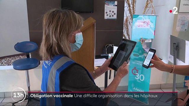 Vaccin contre le Covid-19 : 12% de soignants non vaccinés à quelques jours de l'obligation