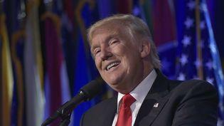 Donald Trump, 45ème président élu des Etats-Unis (MANDEL NGAN / AFP)
