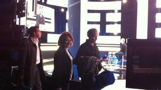 Fabien Namias, Patrick Cohen et Françoise Fressoz (DR)