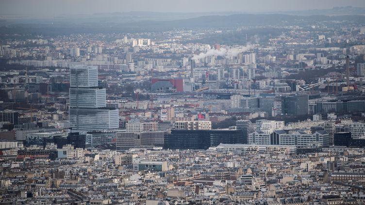 Le Palais de justice de Paris, le 1er février 2021. (MARTIN BUREAU / AFP)