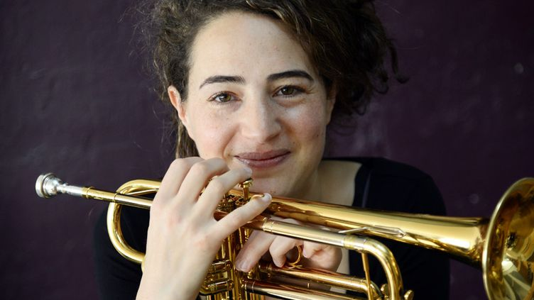 La trompettiste Airelle Besson (mars 2015)  (Bertrand Guay / AFP)