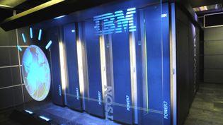 Ordinateur Watson d'IBM, qui peut répondre à des questions formulées dans le langage courant. (MAXPPP)