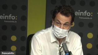 Laurent-Eric Le Lay, patron des sports de France Télévisions. (FRANCE INFO / RADIO FRANCE)