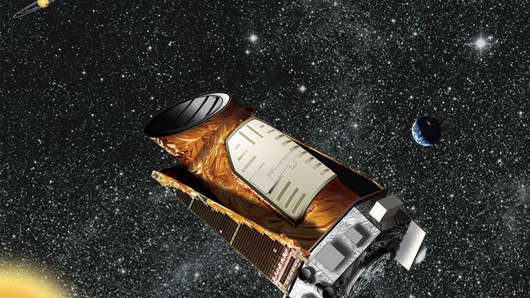Une vue artistique du télescope Kepler, conçu par la Nasa. (NASA / REUTERS)