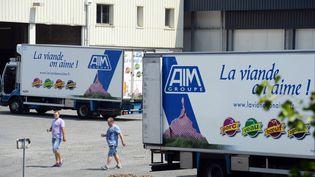 Les abattoirs AIM à Sainte-Cécile, dans la Manche, le 18 juillet 2013. (  MAXPPP)