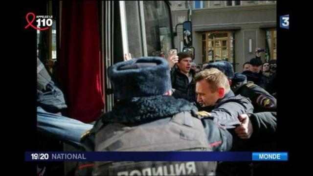 Russie : l'opposant Alexeï Navalny et 700 personnes arrêtées lors d'une manifestation contre la corruption