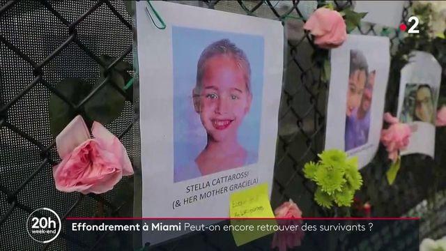 États-Unis : course contre la montre pour retrouver les victimes de l'immeuble effondré à Surfside