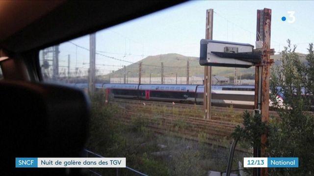 SNCF : des passagers bloqués dans des TGV