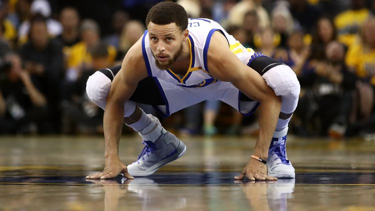Le joueur des Warriors, Stephen Curry (EZRA SHAW / GETTY IMAGES NORTH AMERICA)