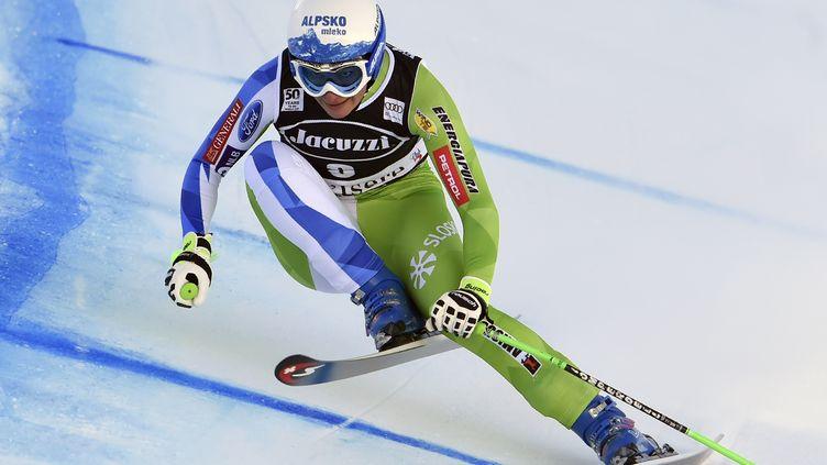 La skieuse slovène Ilka Stuhec (PHILIPPE DESMAZES / AFP)