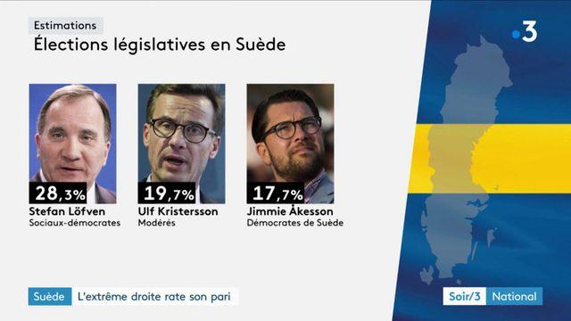 Séisme politique en Suède après les législatives