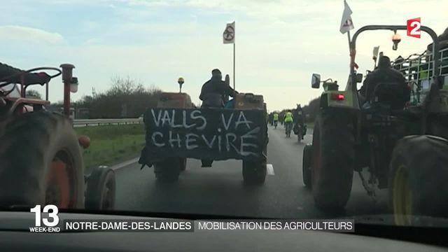 Nantes : nouvelle journée de mobilisation contre l'aéroport de Notre-Dame-des-Landes