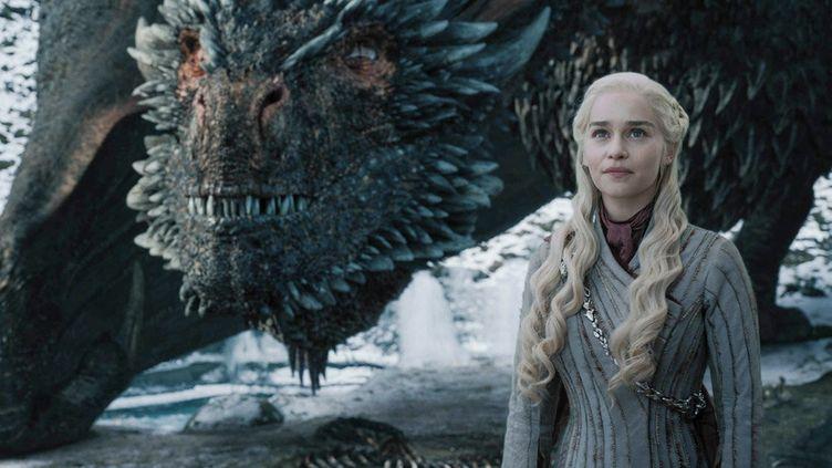 """Daenerys Targaryen, jouée par l'actrice Emilia Clarke, dans la saison 8 de """"Game of Thrones"""". (GAME OF THRONES / HBO)"""