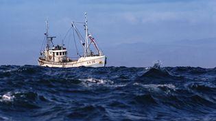Bateau de pêche en haute mer. (MAXPPP)