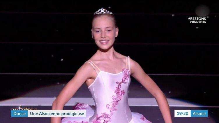Juliette Baud, 13 ans a remporté Prodiges dans la catégorie danse classique (France 3)