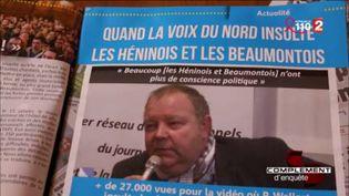 """Hénin-Beaumont : la """"réinformation"""" selon le FN (FRANCE 2 / FRANCETV INFO)"""