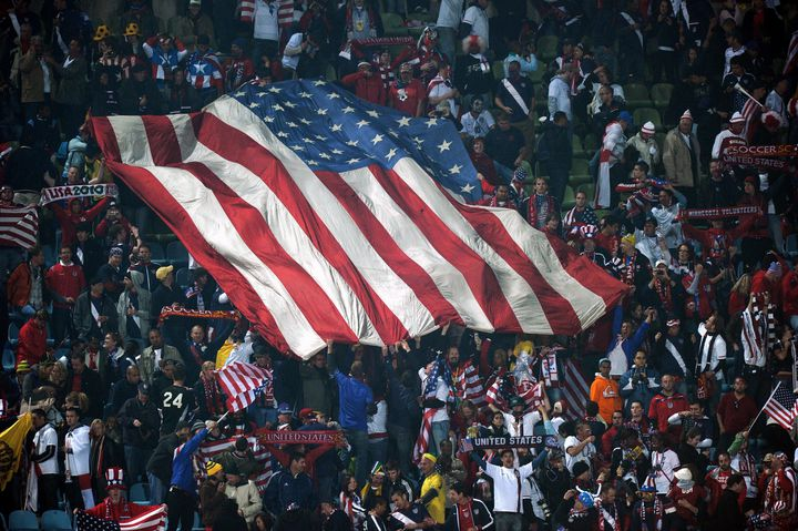 Le drapeau américain (PAUL ELLIS / AFP)
