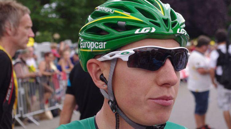 Le coureur de chez Europcar Cyril Gautier