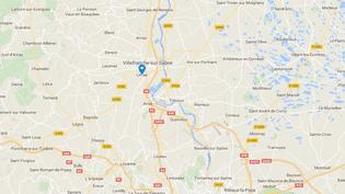 Capture d'écran Google Maps de Limas (Rhône), la ville où l'enfant est mort à la suite d'une réaction allergique. (GOOGLE MAPS)