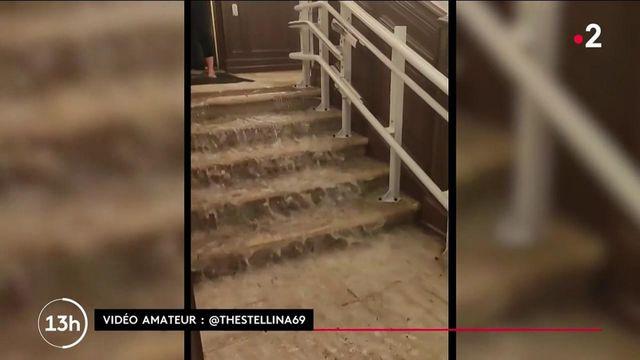 Intempéries : des records de pluies à Agen.