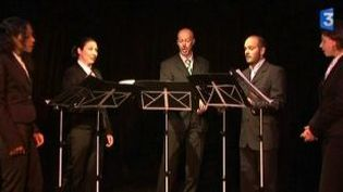 Le groupe vocal Les voix animées en tournée  (Culturebox)