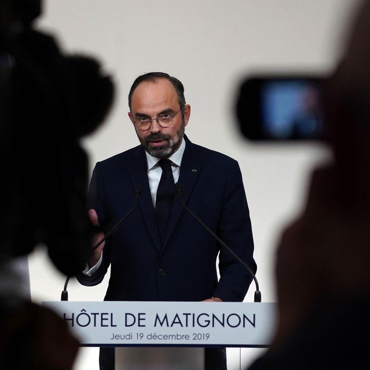 Le Premier ministre, Edouard Philippe, à Matignon, le 19 décembre 2019. (MARTIN BUREAU / AFP)