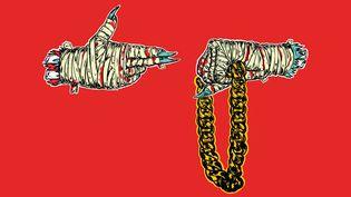 """La pochette de """"Run The Jewels"""" (duo de rap américain constitué de El-P et Killer Mike) est de celles qu'on n'oublie pas."""