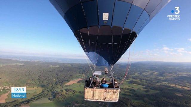 Puy-de-Dôme : des vols en montgolfière pour remercier les soignants