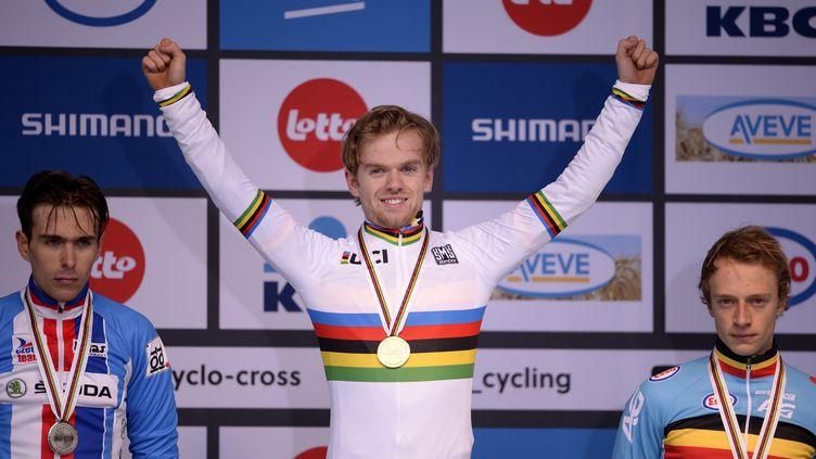 Le Belge Eli Iserbyt, champion du monde U23 de cyclo-cross.  (YORICK JANSENS / BELGA MAG)
